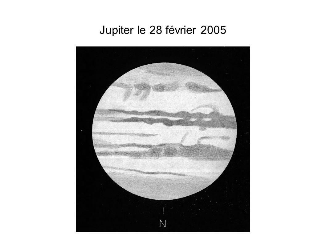 Jupiter le 28 février 2005