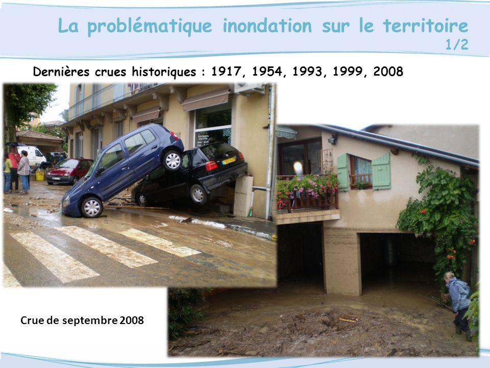 La problématique inondation sur le territoire