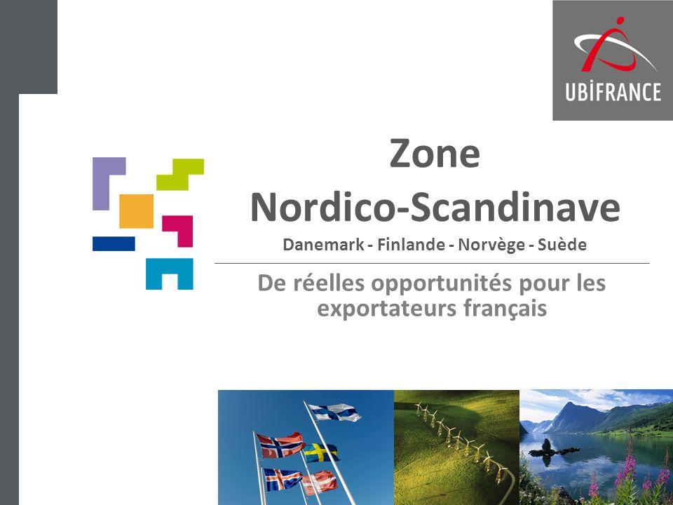 Zone Nordico-Scandinave Danemark - Finlande - Norvège - Suède