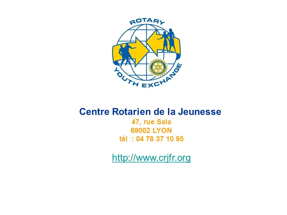 Centre Rotarien de la Jeunesse