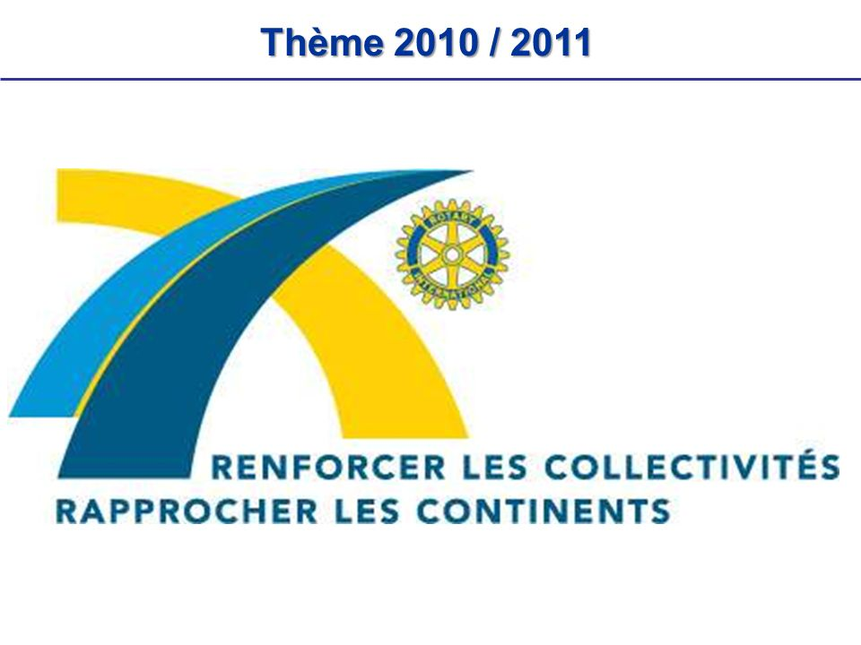 Thème 2010 / 2011