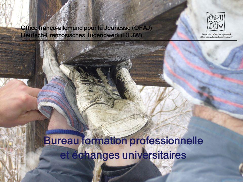 Bureau formation professionnelle et échanges universitaires