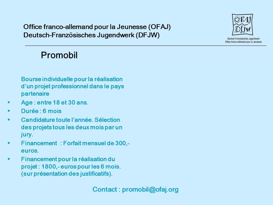 Contact : promobil@ofaj.org