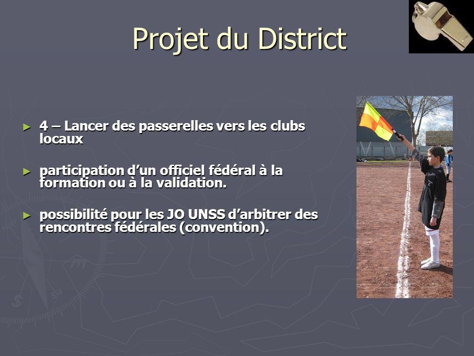 Projet du District 4 – Lancer des passerelles vers les clubs locaux