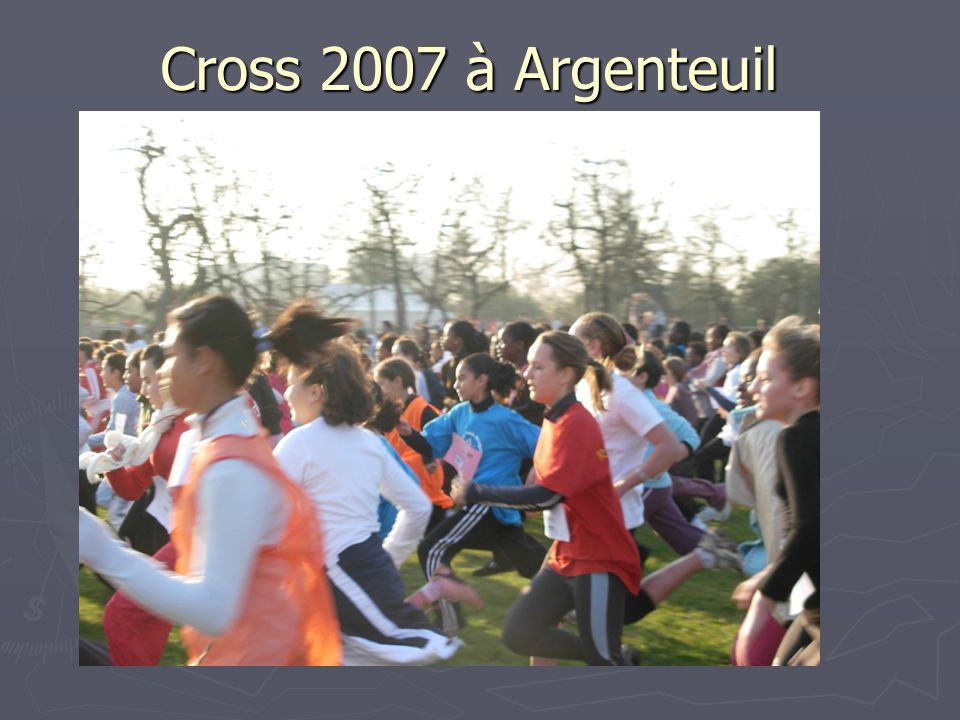 Cross 2007 à Argenteuil