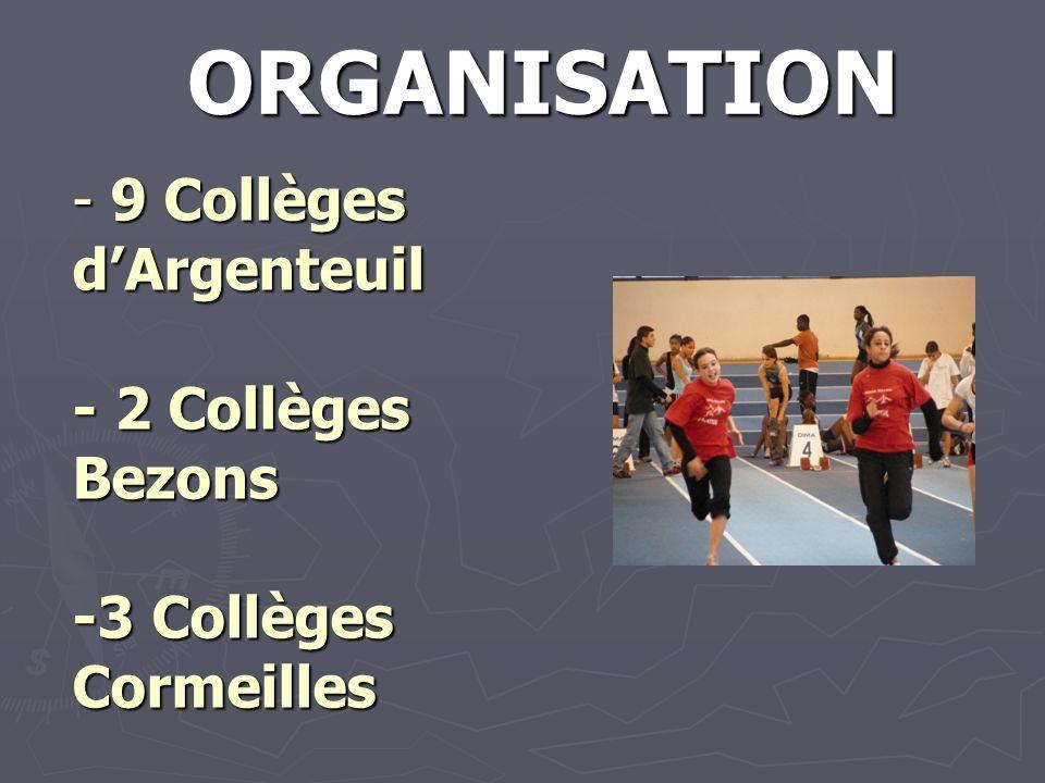 9 Collèges d'Argenteuil - 2 Collèges Bezons -3 Collèges Cormeilles