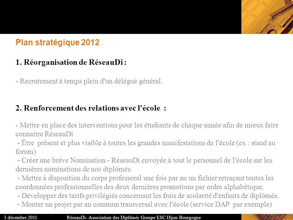 Plan stratégique 2012 1.