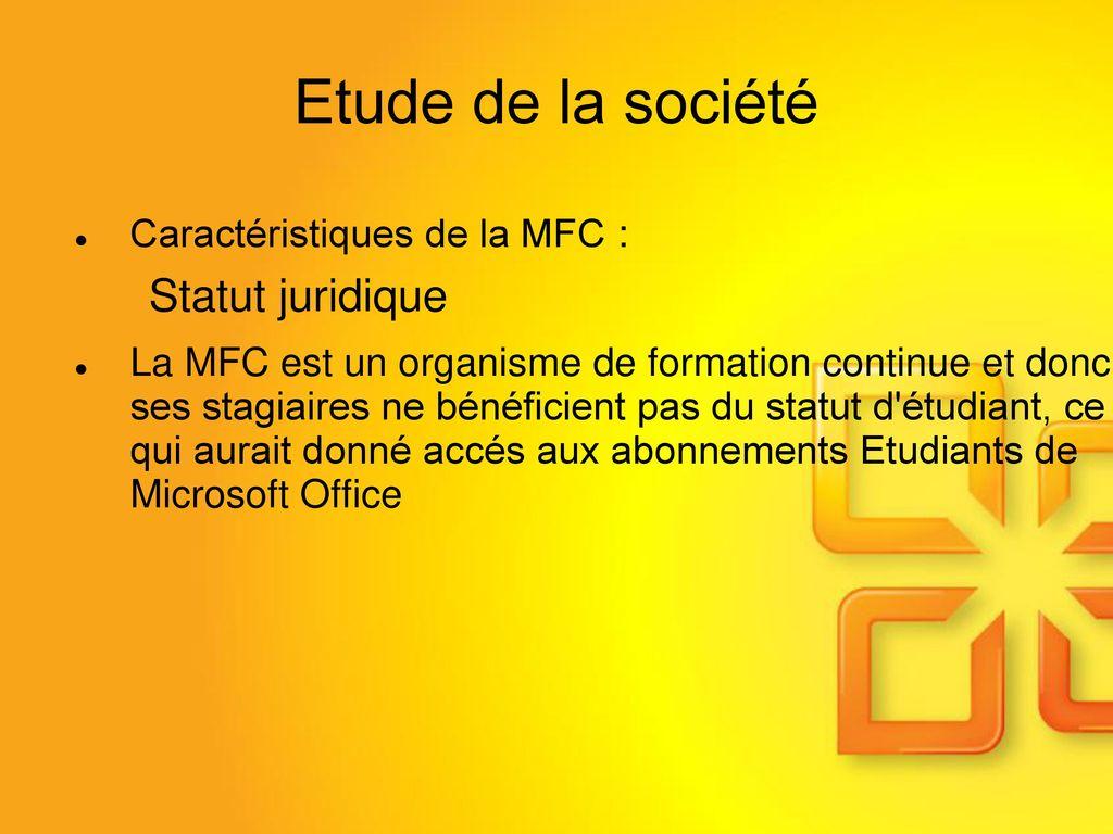 different statut société