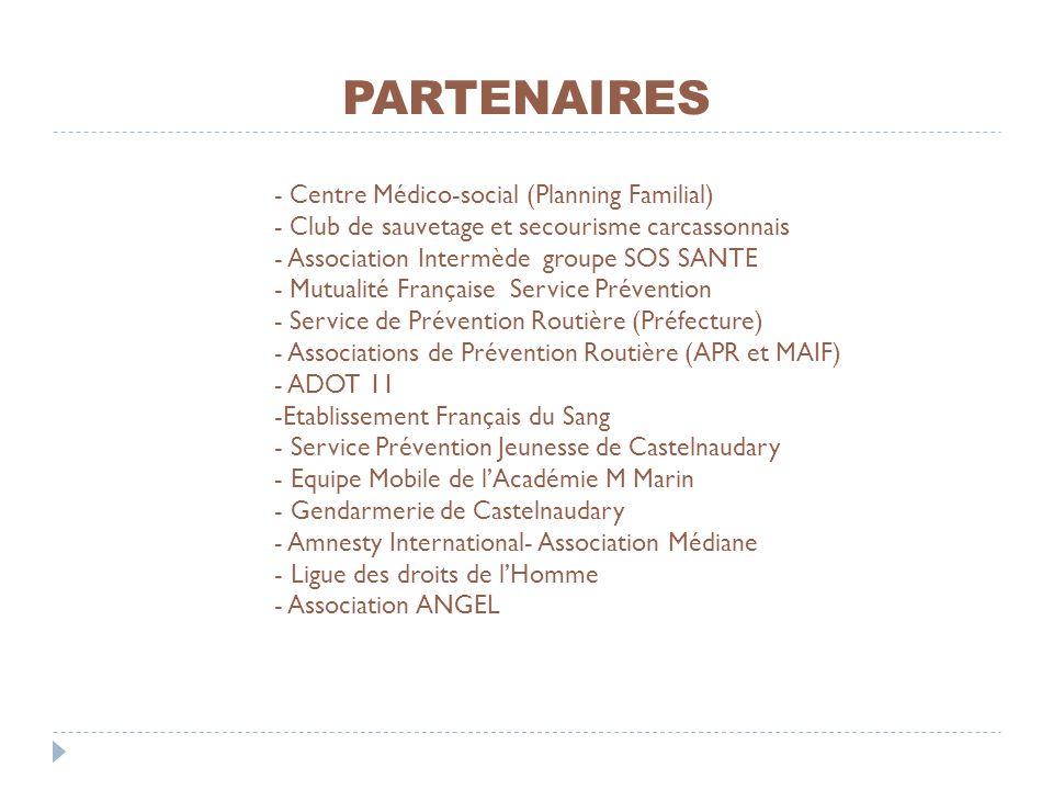 PARTENAIRES - Centre Médico-social (Planning Familial)