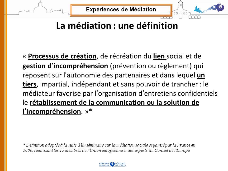 La médiation : une définition