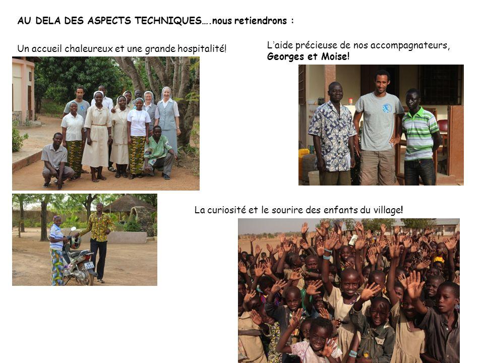 Agadir AU DELA DES ASPECTS TECHNIQUES….nous retiendrons :