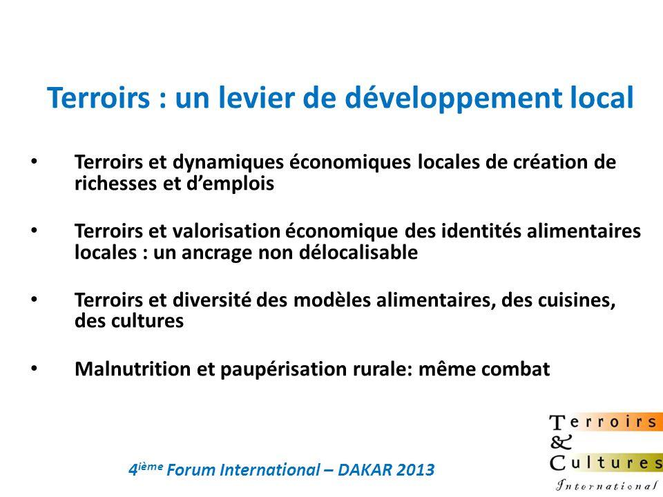 Terroirs : un levier de développement local