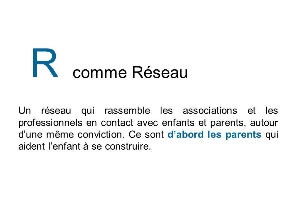 R comme Réseau.