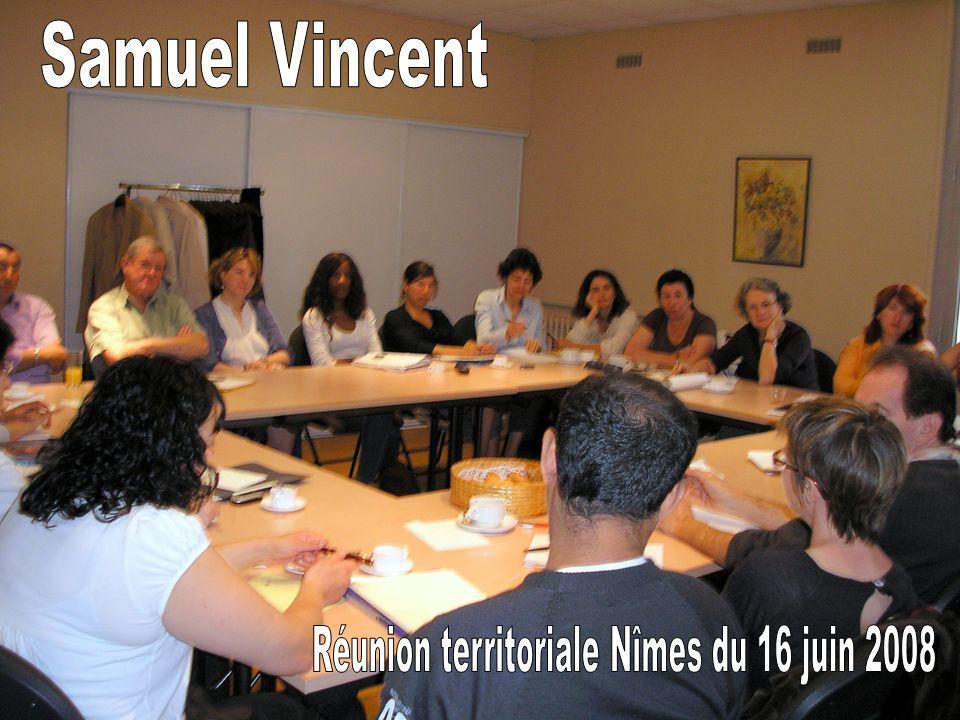 Réunion territoriale Nîmes du 16 juin 2008