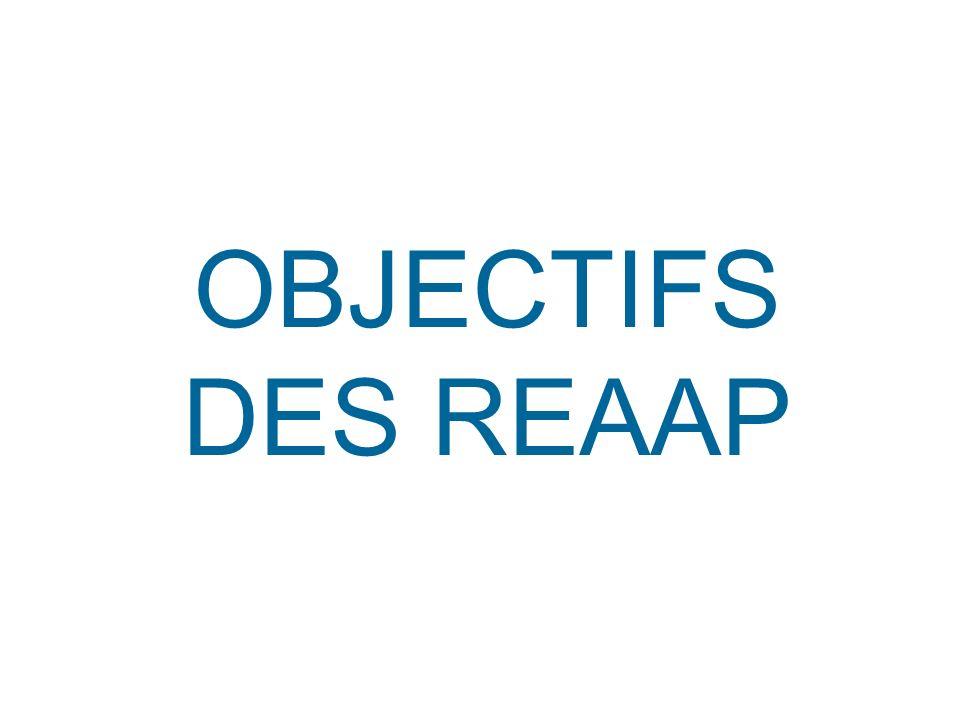 OBJECTIFS DES REAAP