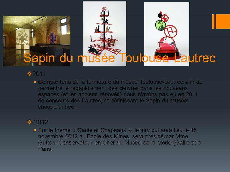 Sapin du musée Toulouse Lautrec