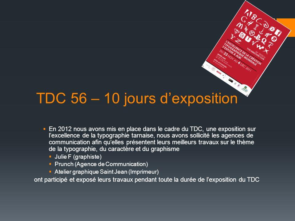 TDC 56 – 10 jours d'exposition