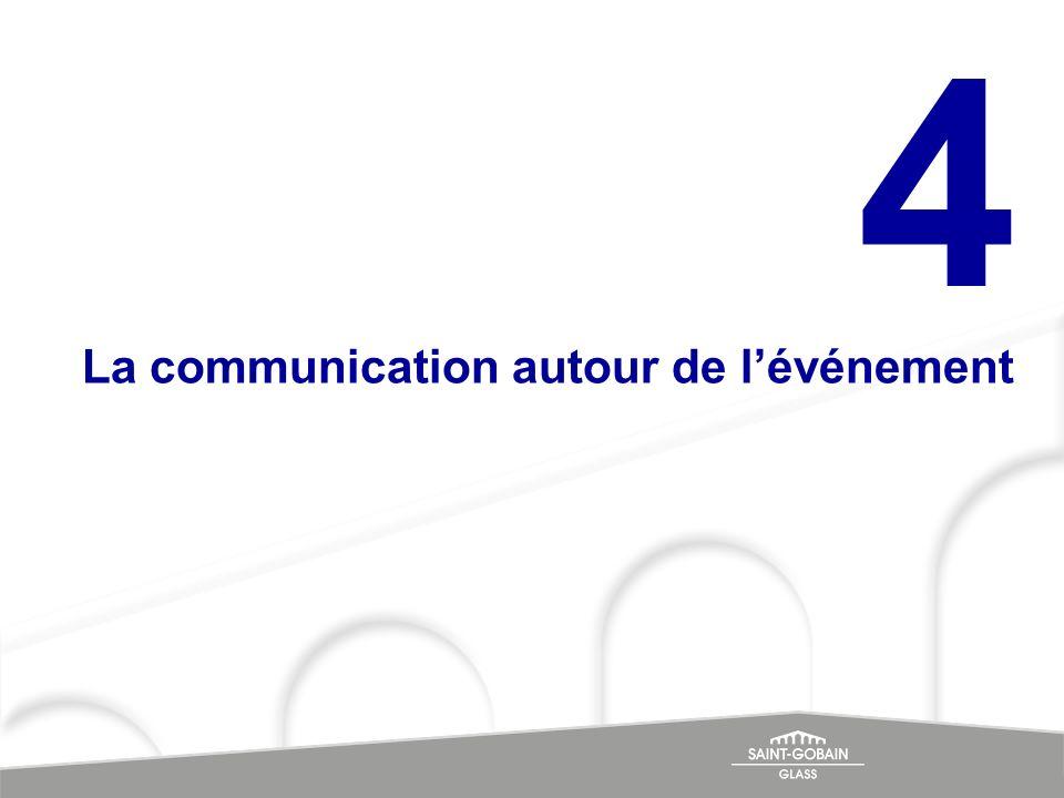 4 La communication autour de l'événement