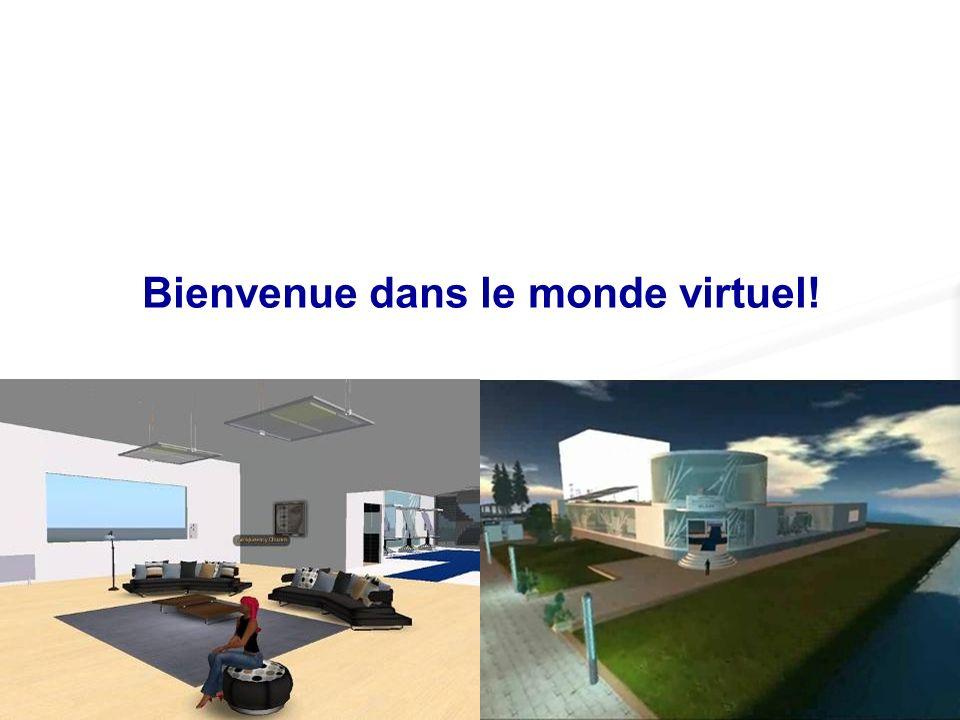 Bienvenue dans le monde virtuel!