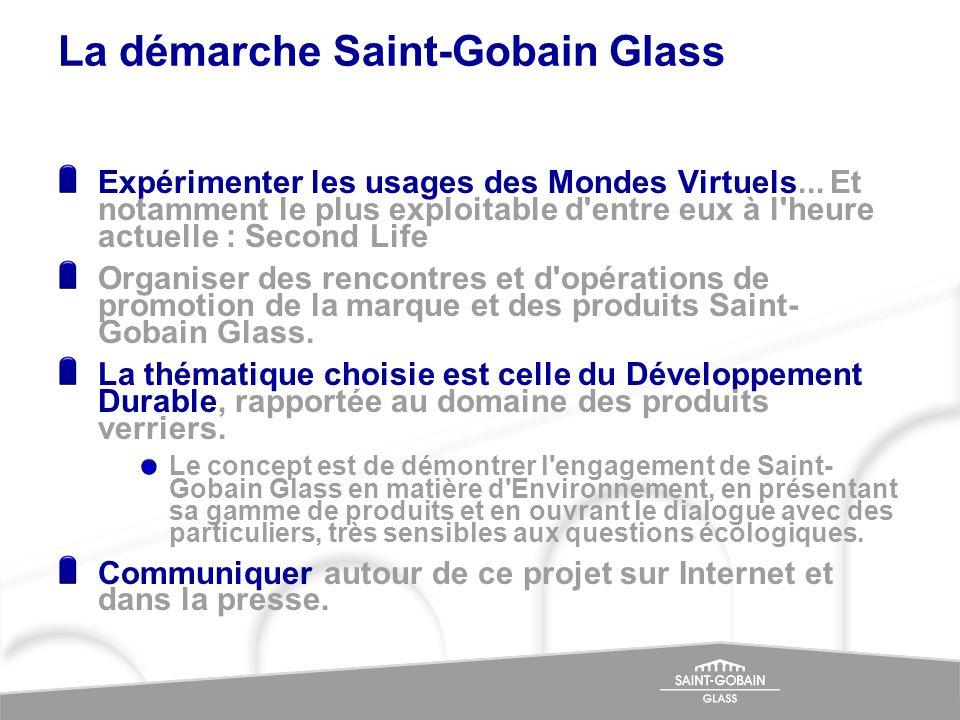 La démarche Saint-Gobain Glass