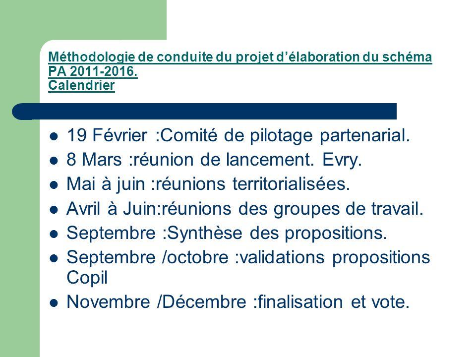 19 Février :Comité de pilotage partenarial.