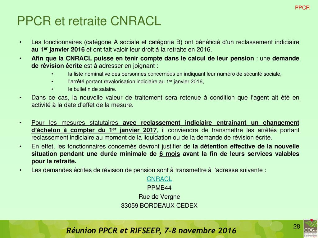 Ppcr et rifseep ppcr et rifseep ppcr rifseep carriere - Grille indiciaire infirmier categorie b ...