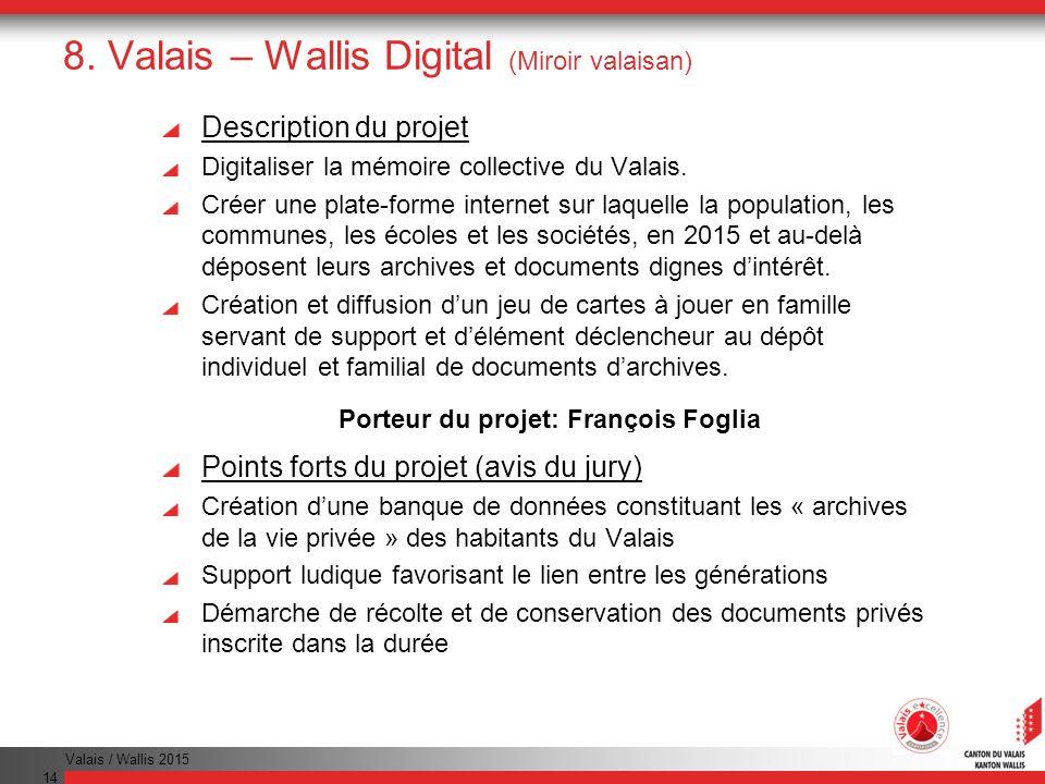 8. Valais – Wallis Digital (Miroir valaisan)