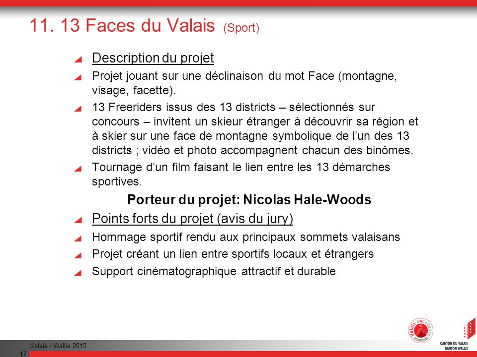 11. 13 Faces du Valais (Sport)
