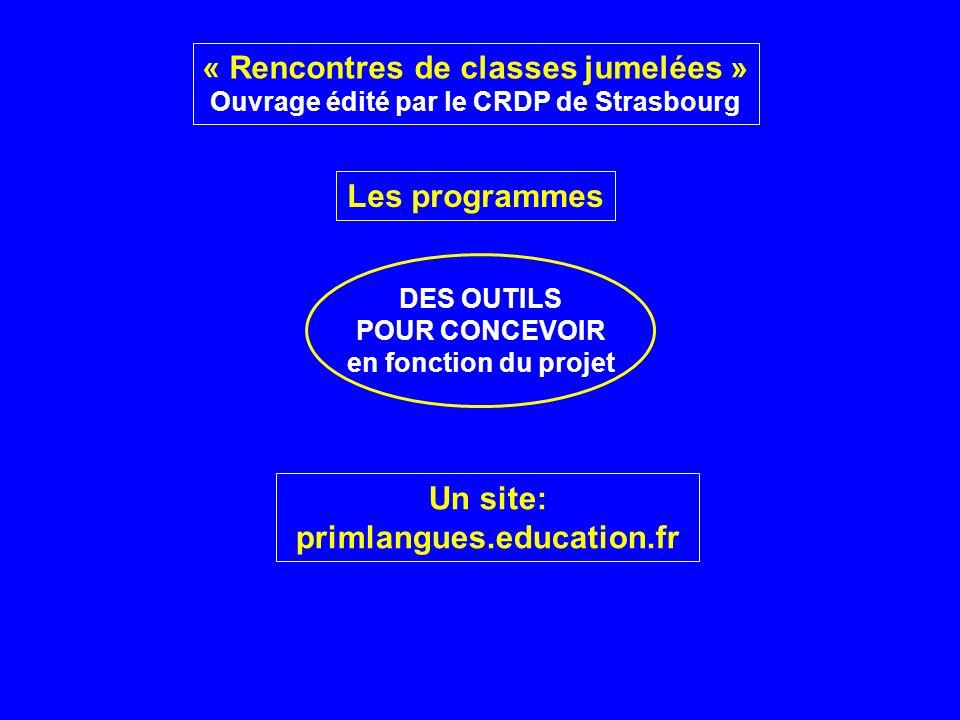 « Rencontres de classes jumelées »