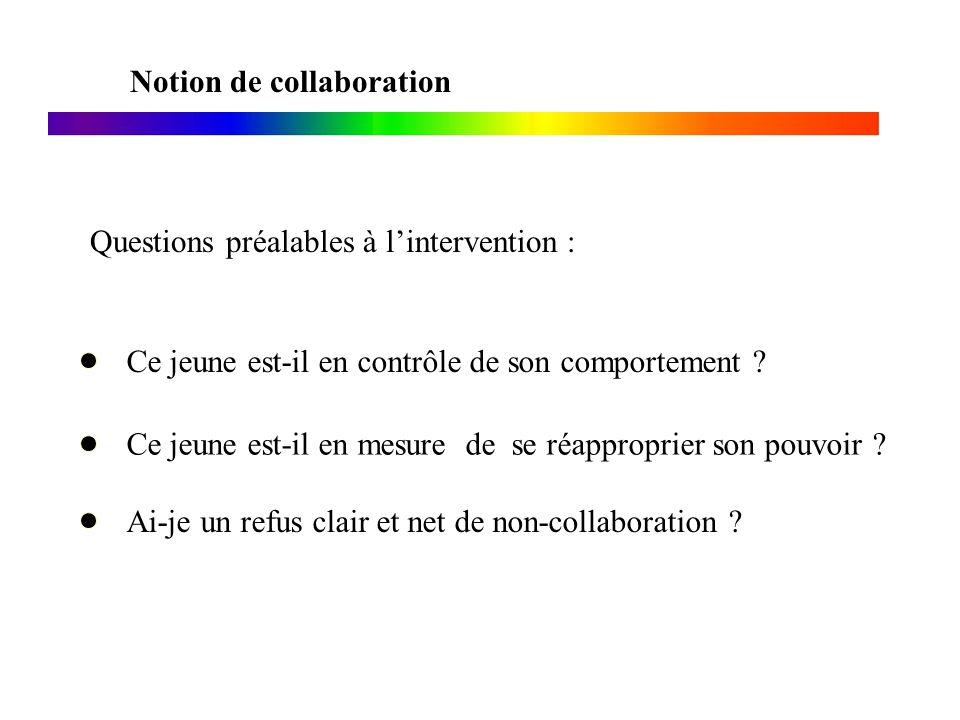 Notion de collaboration