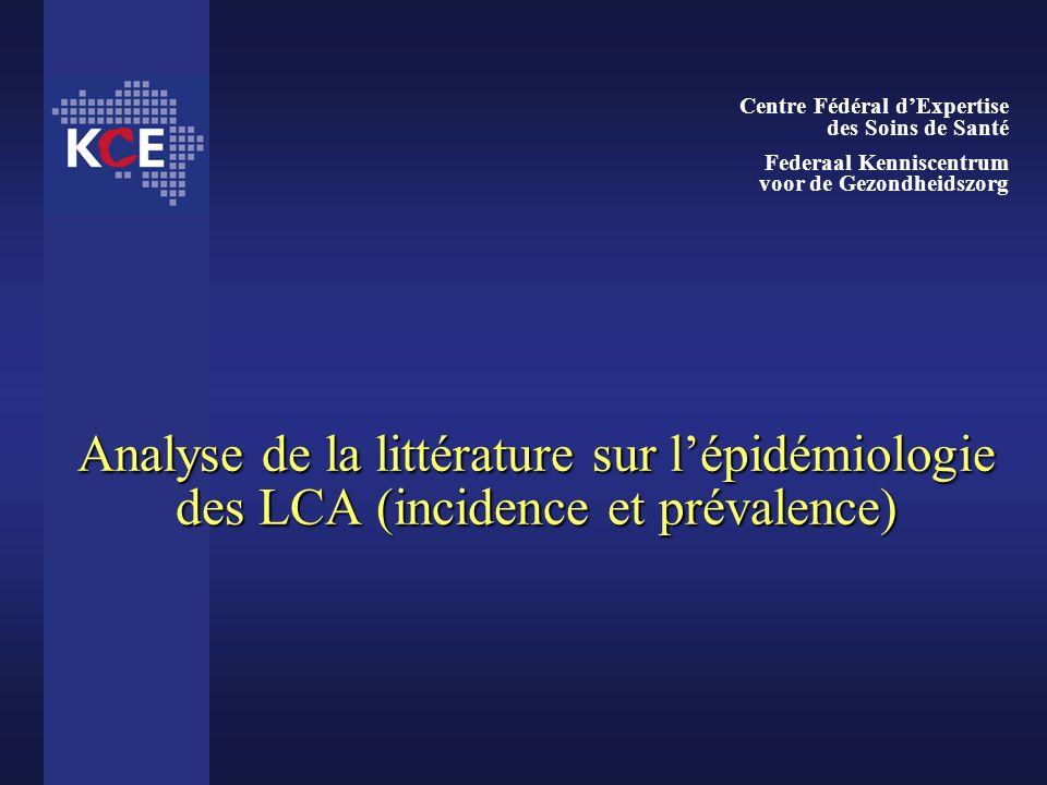 Centre Fédéral d'Expertise des Soins de Santé