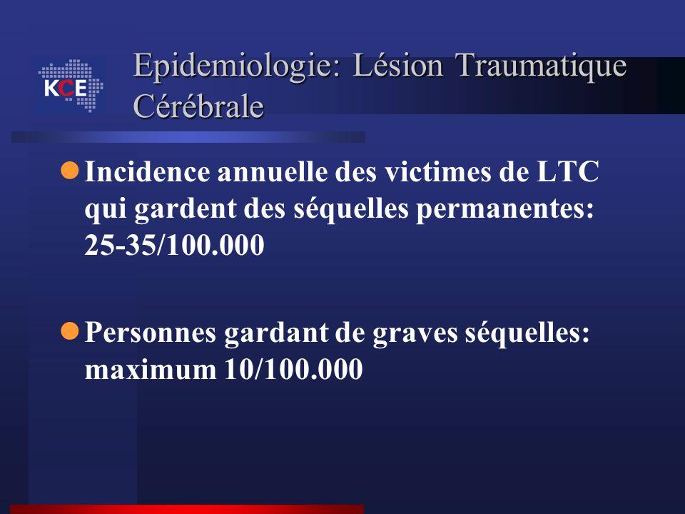 Epidemiologie: Lésion Traumatique Cérébrale
