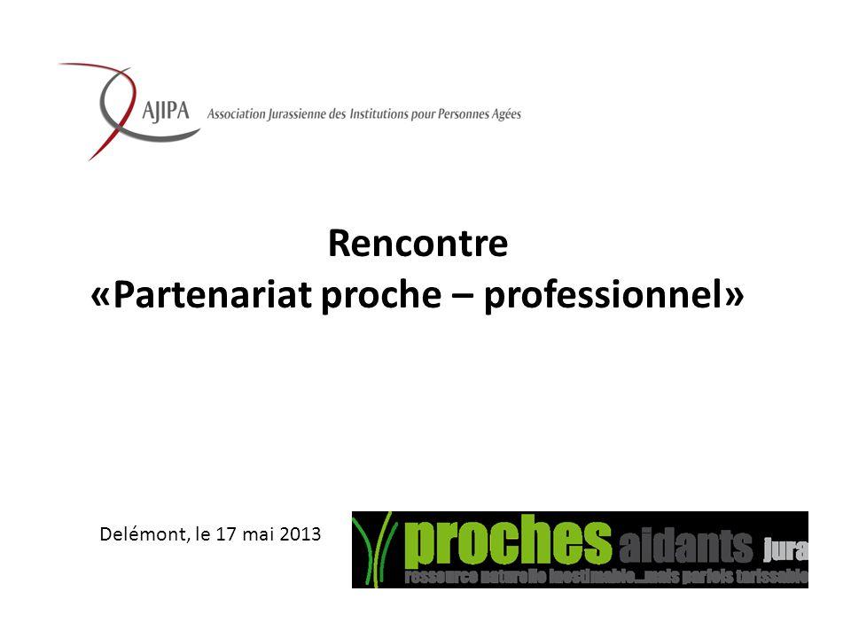 «Partenariat proche – professionnel»