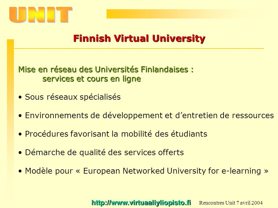 Finnish Virtual University