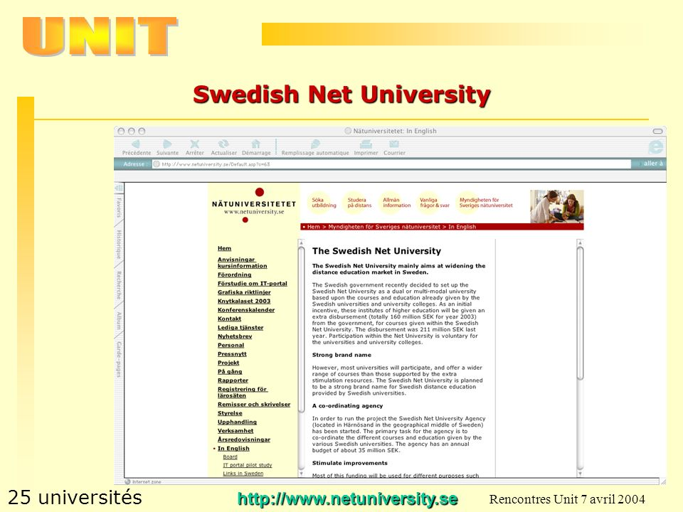 Swedish Net University