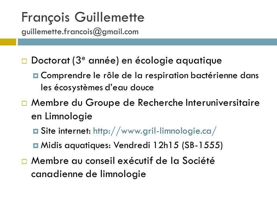 François Guillemette guillemette.francois@gmail.com