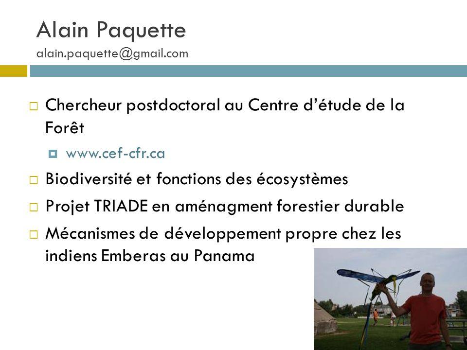 Alain Paquette alain.paquette@gmail.com
