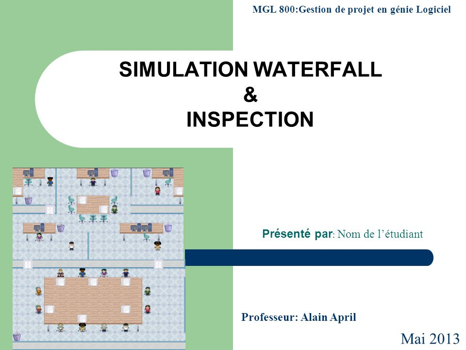 SIMULATION WATERFALL & INSPECTION