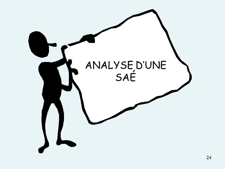 ANALYSE D'UNE SAÉ DOCUMENT 3