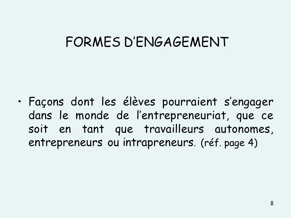 DOCUMENT 3 FORMES D'ENGAGEMENT.