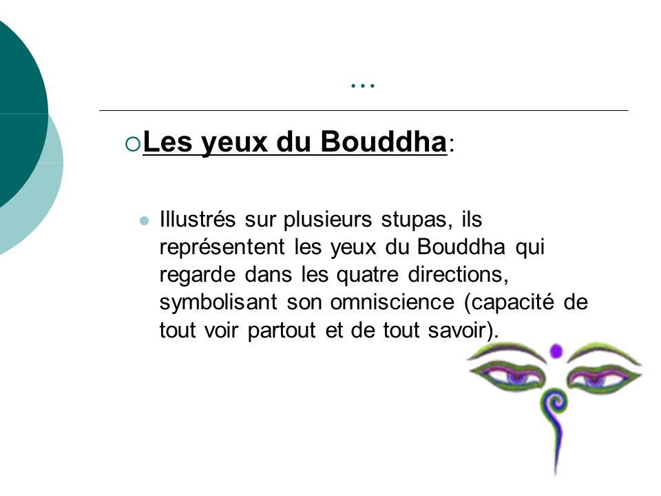 … Les yeux du Bouddha: