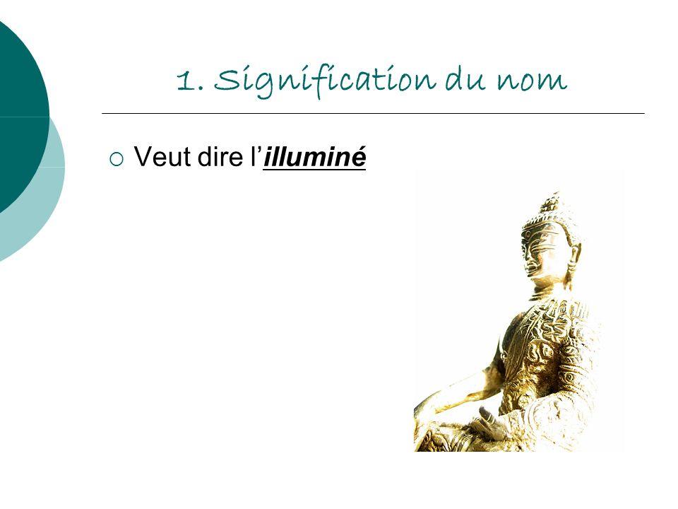 1. Signification du nom Veut dire l'illuminé