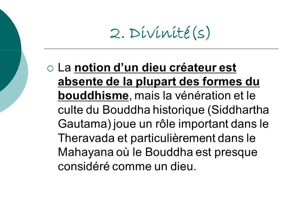 2. Divinité(s)