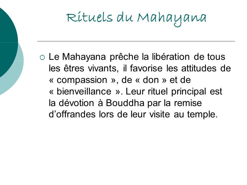 Rituels du Mahayana