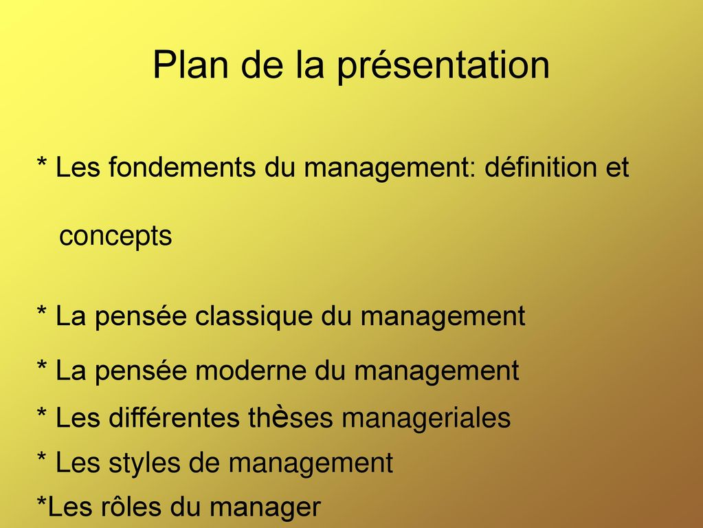 management ii s2 cours du professeur el madi ppt t 233 l 233 charger