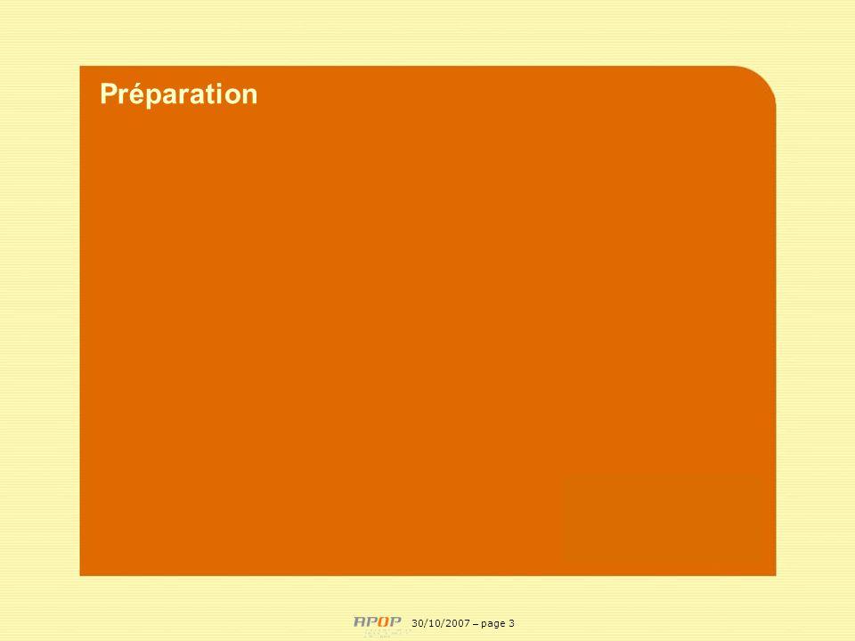 Préparation APOP 30/10/2007 – page 3