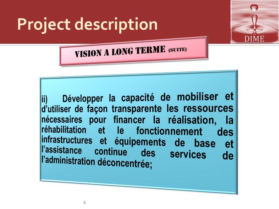 Vision a long terme (suite)