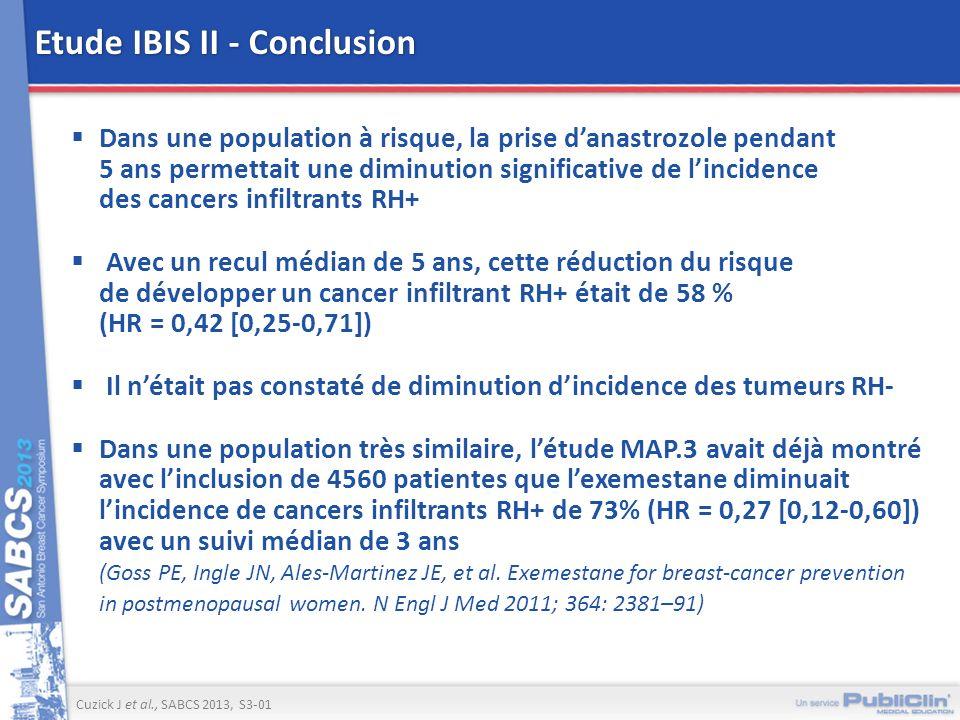 Etude IBIS II - Conclusion