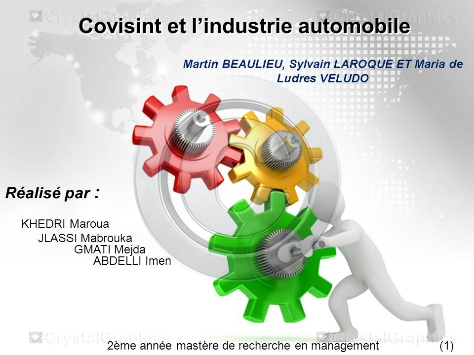 Covisint et l'industrie automobile