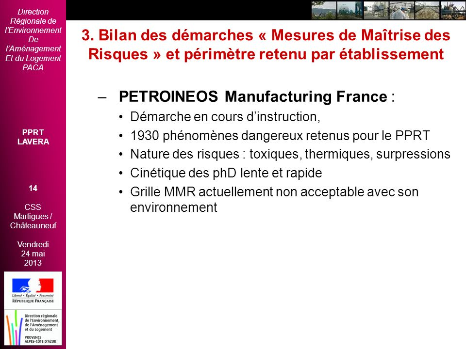 PETROINEOS Manufacturing France :